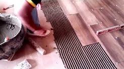 como poner piso ceramico o porcelanato