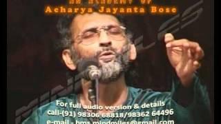 Acharya Jayanta Bose