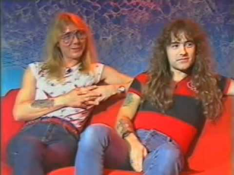 Iron Maiden  19851110  Steve Harris & Dave Murray  Monsters Of Rock  Sky TV