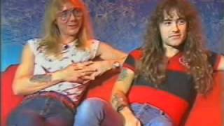 Iron Maiden - 1985-11-10 - Steve Harris & Dave Murray Interview [Monsters Of Rock - Sky TV]
