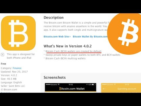 Bitcoin Wallet By Bitcoin.com | Bitcoin Cash (BCH) Wallets Are Created By Default | Bitcoin $8150