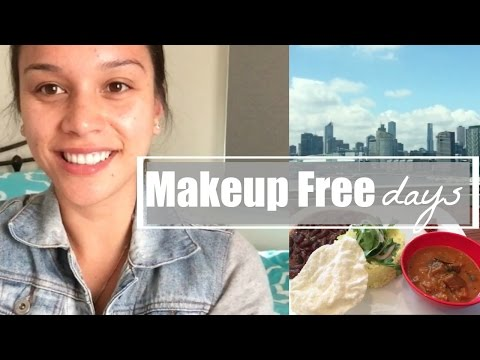 Makeup Free Days + Day Trip to Melbourne
