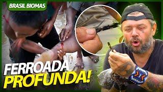 ARRAIA FERROA A PERNA DE ÍNDIO! | RICHARD RASMUSSEN