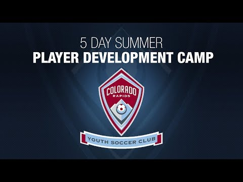 Colorado Rapids Youth Soccer Club Player Development Soccer Camp