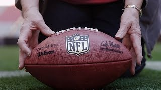 The Final Stitch: Making the Super Bowl's Footballs - INSIDE THE NFL