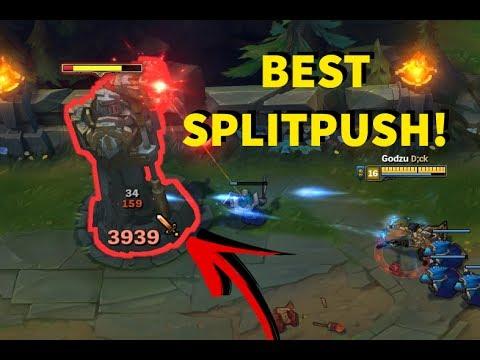 FULL AD ASHE! Best SPLIT PUSH!! MID LANE ADC 2017! [ League of Legends ]