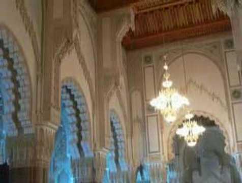 The Grand Mosque of Hassan II, Casablanca, Morocco