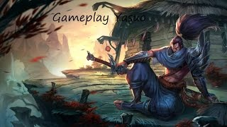 LoL Ranked tuto : Yasuo full farm