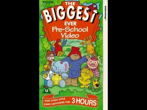 The Biggest Ever Pre-School VHS Complete