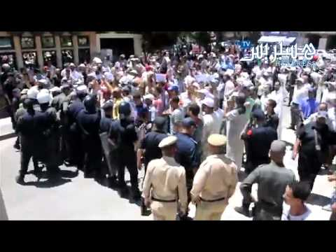 Hespress.com: Al-Jamaâ et les forces de l'ordre à Nador