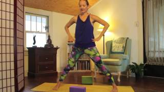 afternoon YOGA ~ pick me up!