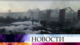 Крупный пожар потушили в городе Тимашевске Краснодарского края.