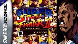 Super Street Fighter II - Turbo Revival - Balrog (GBA)