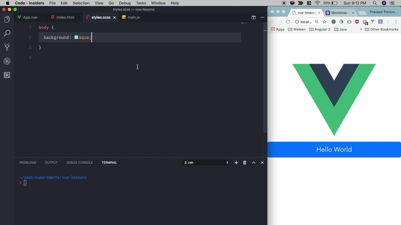 How to add global styles in a Vue CLI project