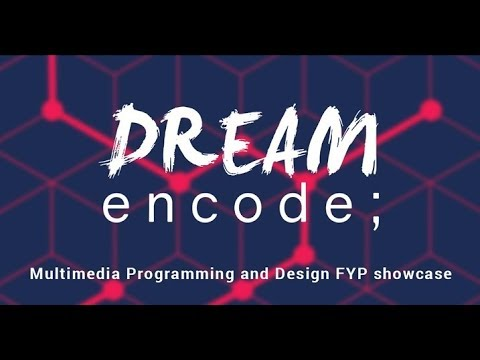 Multimedia Programming and Design LIT final year project showcase