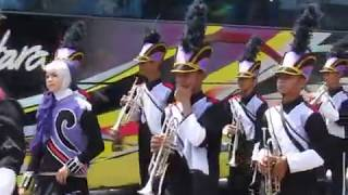 JARAN GOYANG Marching band MA NU Banyuputih HUT  RI 72