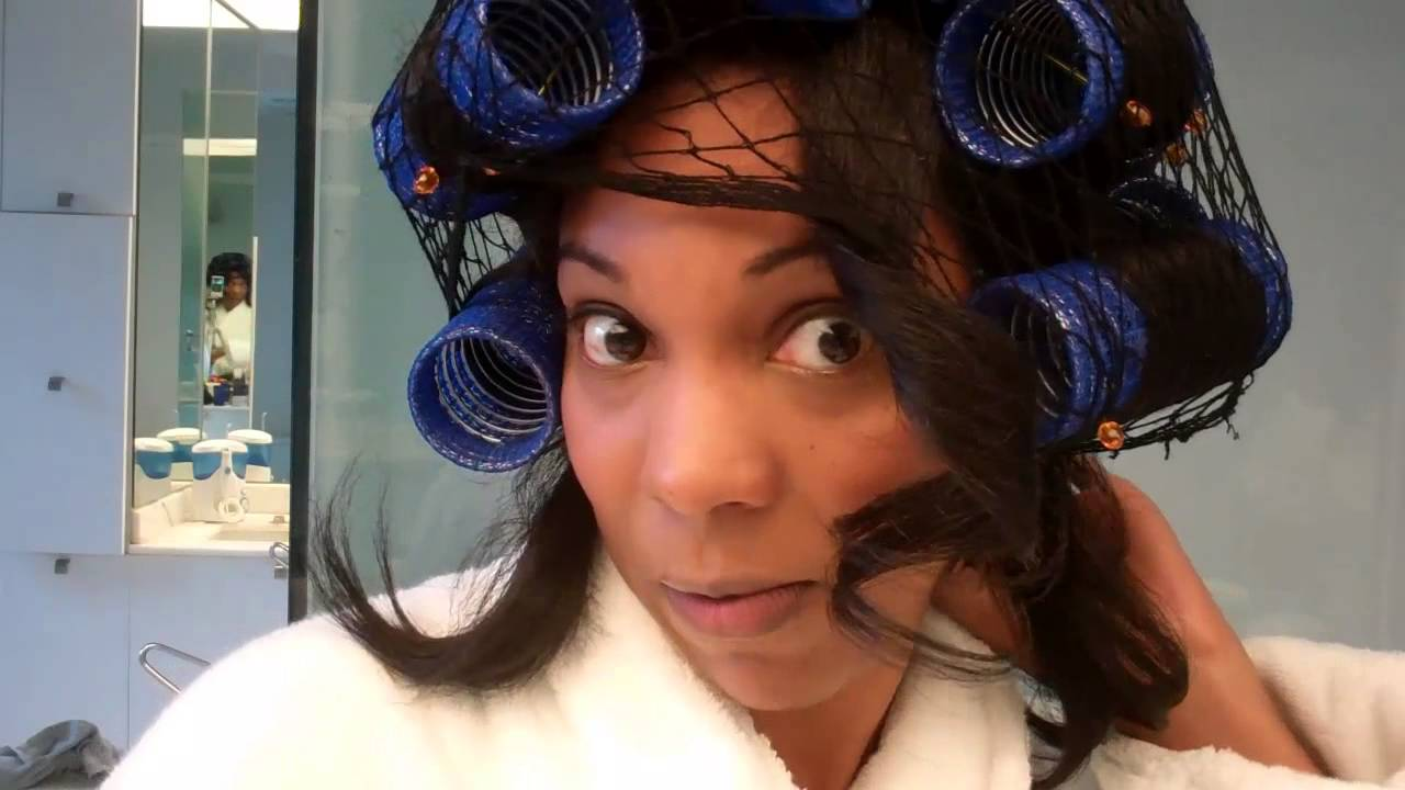 Drying Natural Hair Under Hooded Dryer