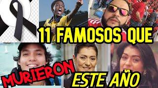 11 FAMOSOS COLOMBIANOS QUE FALLECIERON EN EL AÑO 2020 Y NO LO SABIAS!!! 💖💙💛