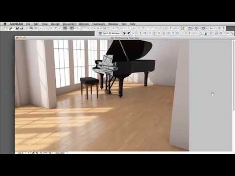 Introducing CineRender in ARCHICAD