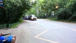 Land Rover Discovery 3 и Последний из Магикян съёмка авто