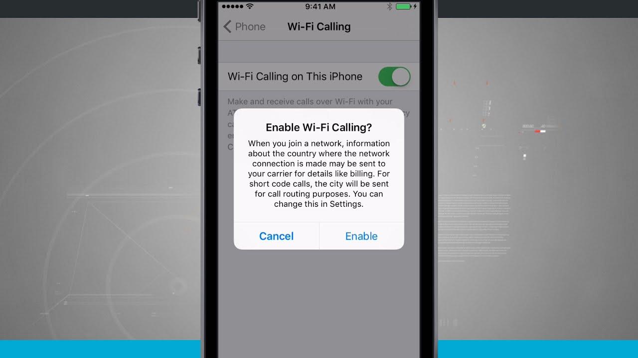 iPhone SE Tips - Enabling WiFi Calling