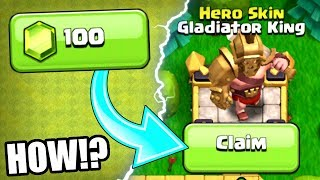 I PAID 100 GEMS FOR THE GLADIATOR KING.................HOW!?