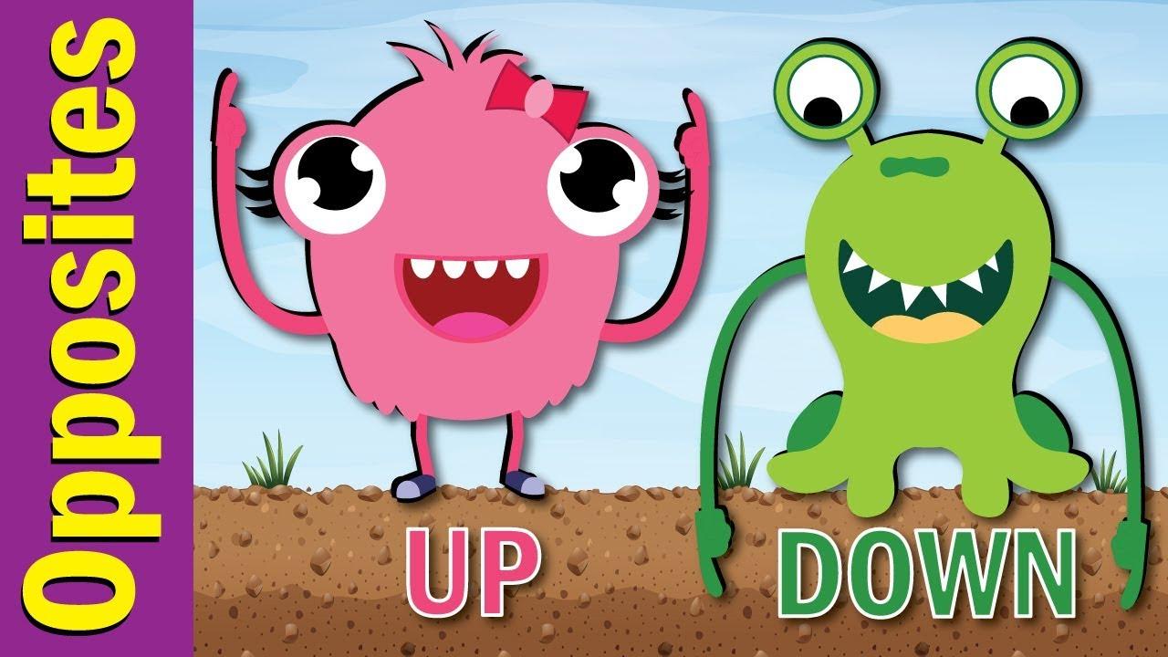 Opposites Song for Kids | Fun Kids English - YouTube