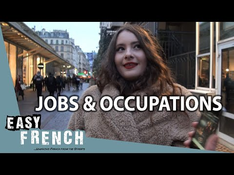 What's your occupation?   Easy French 95