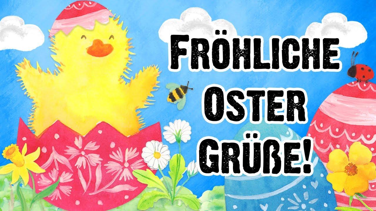 Frohe Ostern! ☀️🐰🌷 Ich wünsche dir ein wunderbares