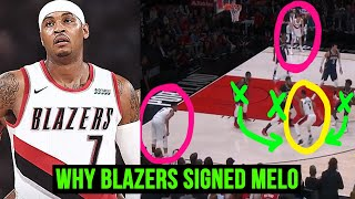 THE REASON Why CARMELO ANTHONY Signed With BLAZERS
