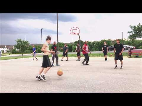 Spring Mills Middle school half court basketball GM 1 5/25/2019