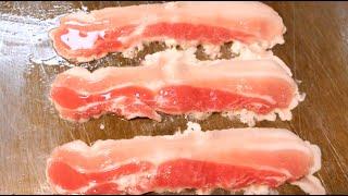 원조 삼겹살 김밥 | Pork Belly Samgyup…