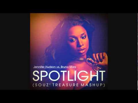 SPOTLIGHT (Souz' Treasure Mashup) - Jennifer Hudson vs. Bruno Mars (+ DOWNLOAD LINK)