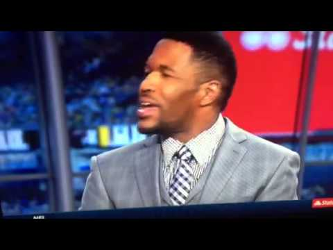 Fox Sports Michael Strahan Debate Pass Interference? Dallas