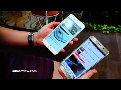 HD รีวิว Samsung Galaxy Note 5 VS iPhone 6 Plus [TH]