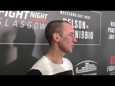 Neil Seery UFC Glasgow Post-Fight Interview