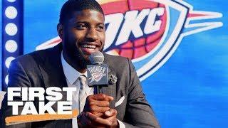 Stephen A. picks Thunder and Heat as NBA sleepers this season | First Take | ESPN