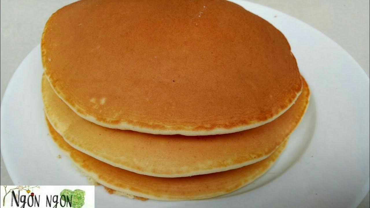 Cách Làm Bánh Doraemon Không Cần Men Nở (Bánh rán Đô rê mon) /How To Make Pancakes