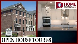 Open House Tour 88 - Luxurious Brick Townhome at Courthouse Square in Downton Wheaton IL