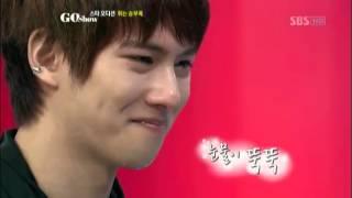 정은지 앞에서 눈물 흘린 종현?! @GO SHOW 20120907