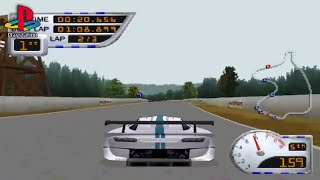 Sports Car GT (PS1 Gameplay)