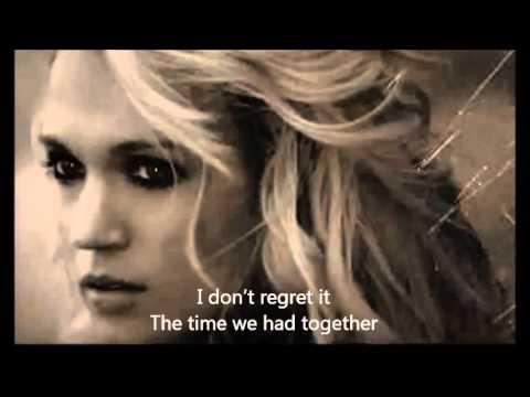 Carrie Underwood - Good In Goodbye With Lyrics