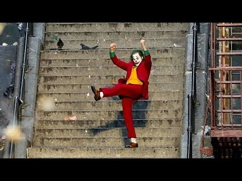 Joker Dancing On The Stairs FULL