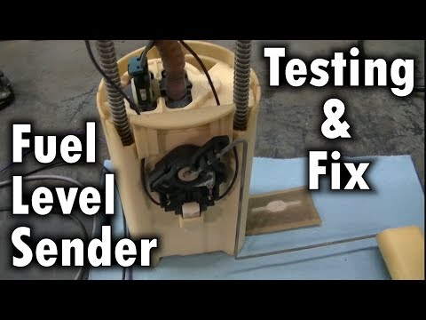 2000 Silverado Z71 Fuel Tank Level Sender Testing Install ...