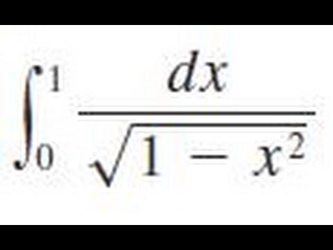 Integrate Dx/sqrt(1
