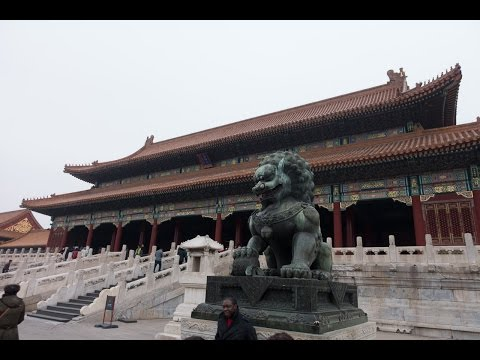 Forbidden City, Beijing China - Nov 2016