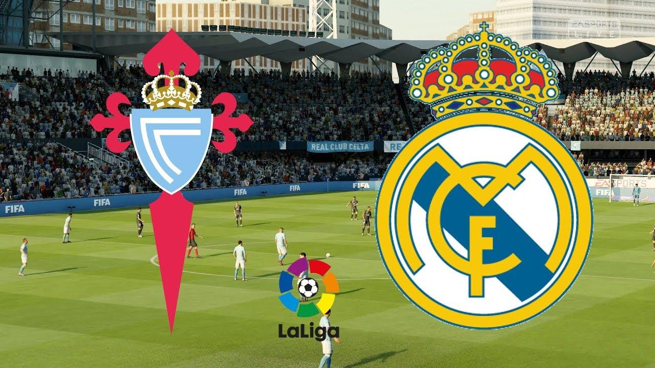La Liga 2019 20 Celta Vigo Vs Real Madrid 17 08 19 Fifa 19