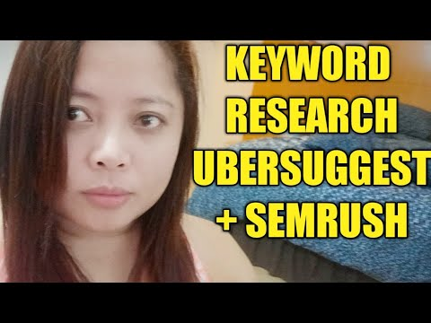 Keyword Research Tutorial 2020 |  Work from Home Philippines