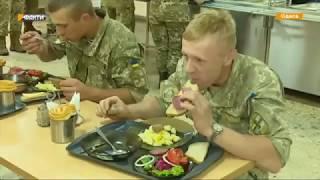 Салаты, фрукты, мясо, супы - обновленное меню военных столовых