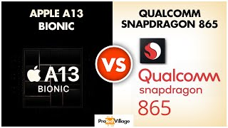 Apple A13 Bionic Chip vs Snapdragon 865 🔥 | Battle of Beasts? 🤔🤔| Apple A13 vs Snapdragon 865 🔥